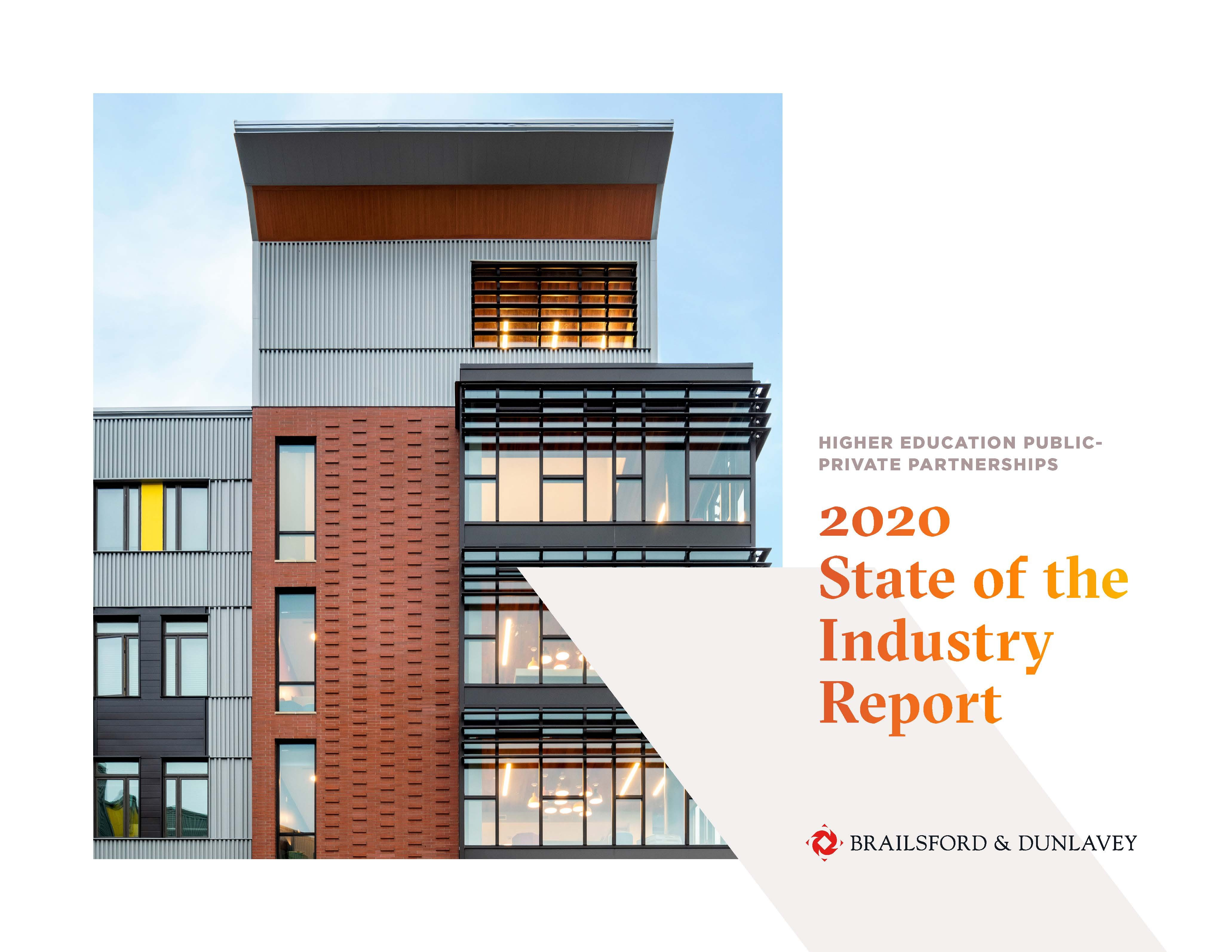 """Higher Ed P3 2020 """"State of the Industry"""" Report (download available)"""